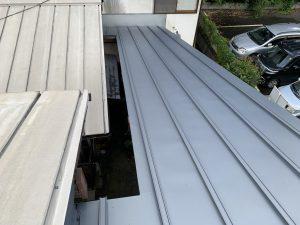 板金屋根ふき替え工事